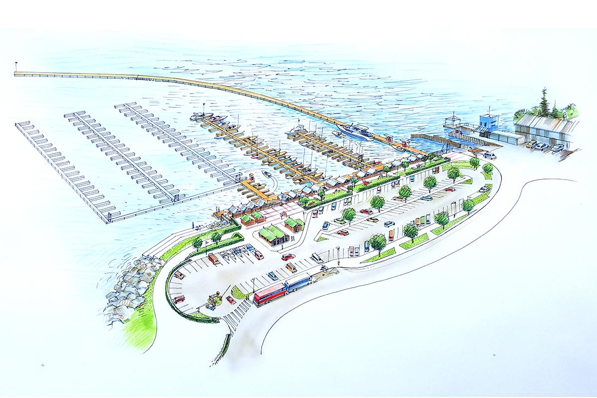 Queenstown Marina - Shore View