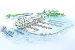 Queenstown Marina - Artist's Concept